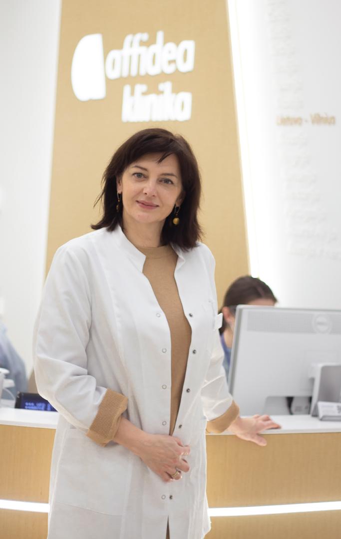 Akušerė ginekologė Rudzikienė