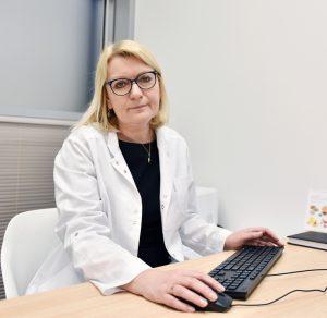 Infekcinių ligų gydytoja Ligita Jančiorienė